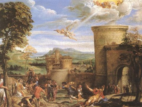 The_Martyrdom of Stephen - Annibale Carracci