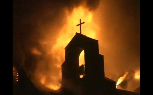 Egypt-burnt-church