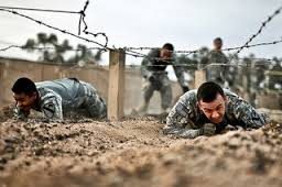 The more you sweat in training, the less you'll bleed in battle!